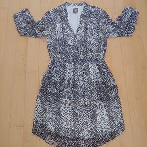 Vince Camuto Animal Print Shirt Dress